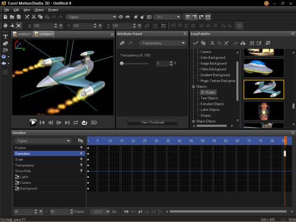 Corel MotionStudio 3D | Movie making and editing