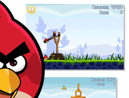 Angry Birds za Google Chrome