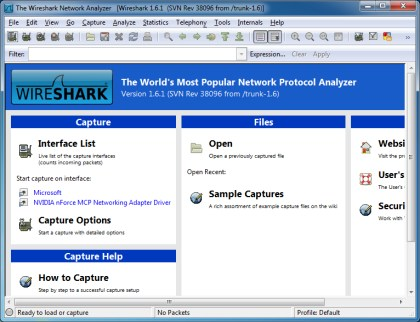 Wireshark 1.8.5 dostupan za Download